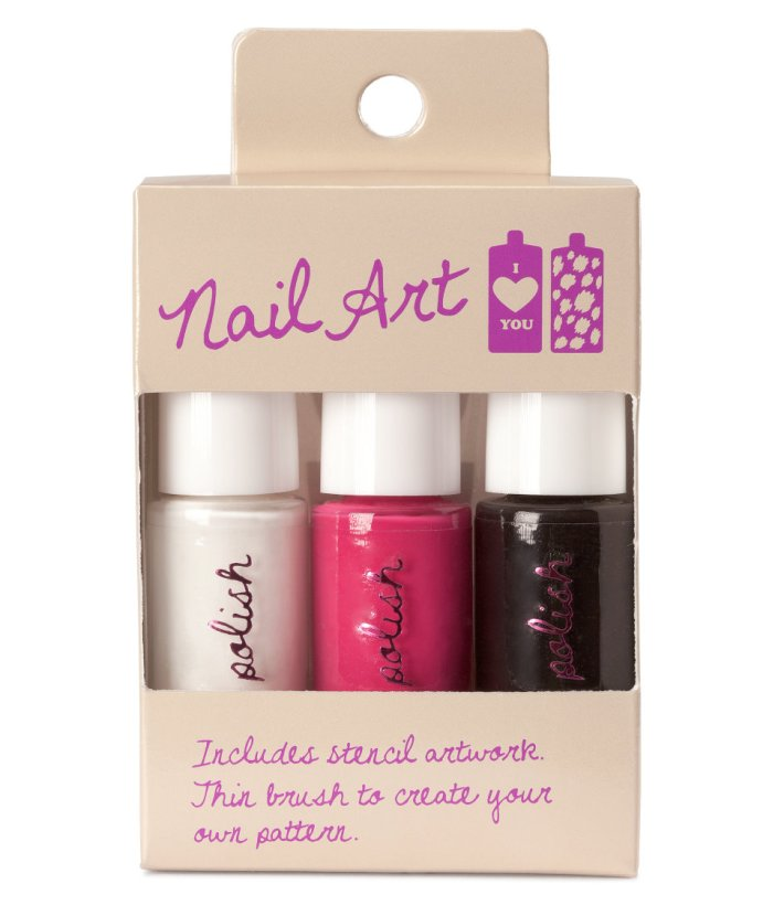 h&m nail art kit