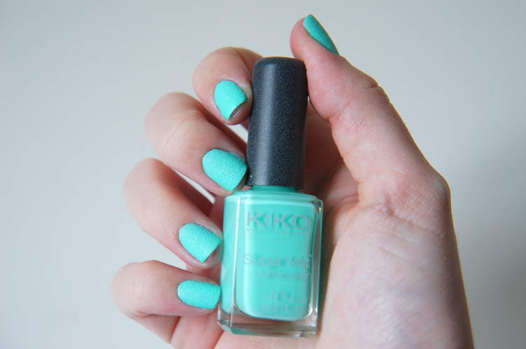 Kiko Sugar Mat Mint 636 swatch
