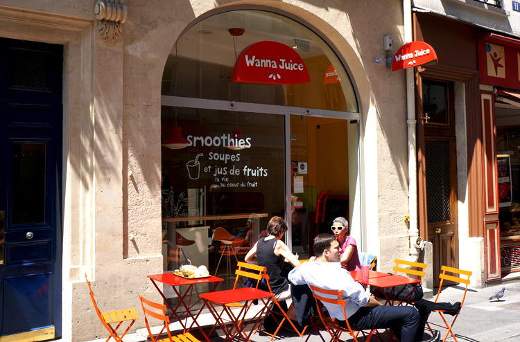 Wanna Juice Smoothie Paris Montorgueil avis