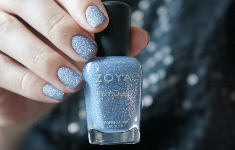 Zoya NYX Pixie Dust swatch