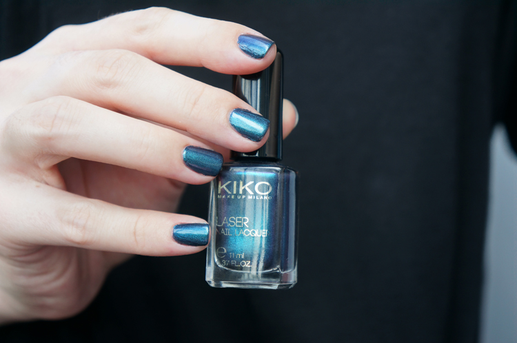Kiko 435 Venom Teal test swatch avis - Dark Heroine