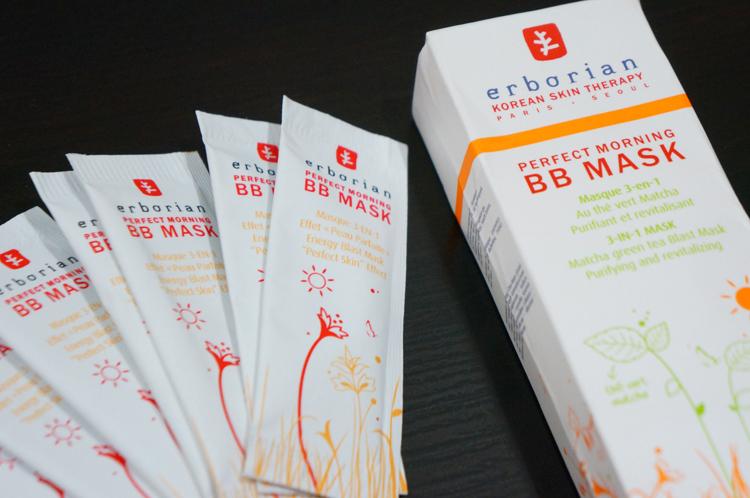 Perfect Morning BB Mask Erborian thé vert Matcha masque test avis