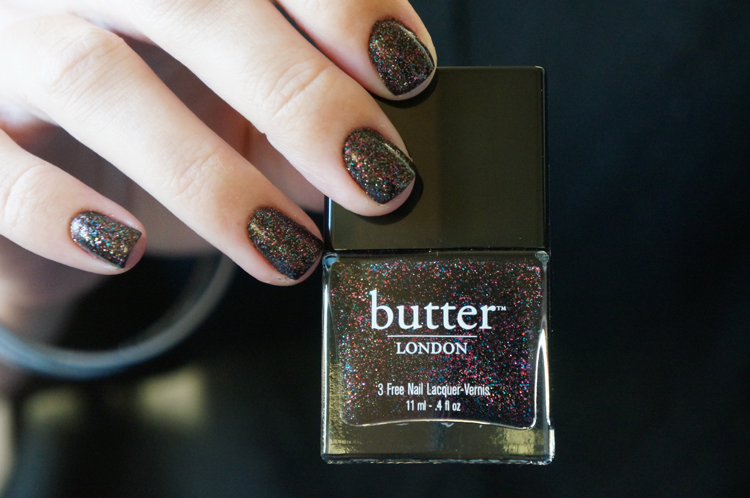 Butter London Dark Knight vernis swatch