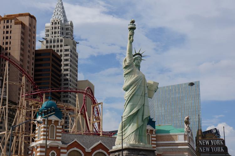 Vegas LV New York New York Hotel