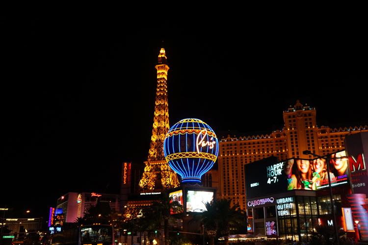 Vegas LV Paris Hotel