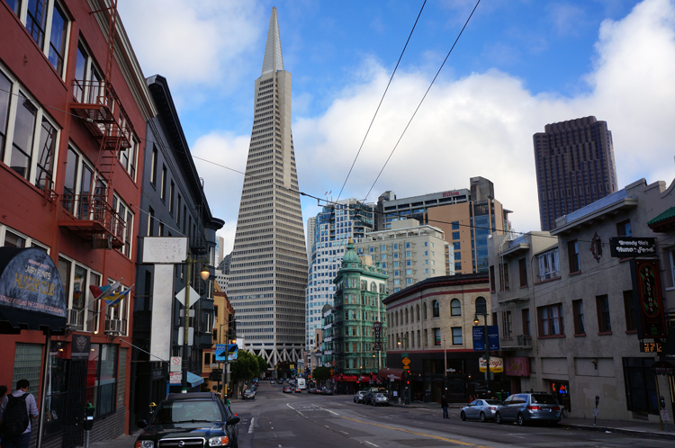 transamerica pyramid Tower SF