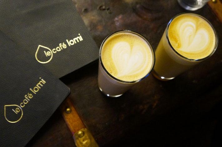 Café Lomi Paris avis café Milkshake caramel
