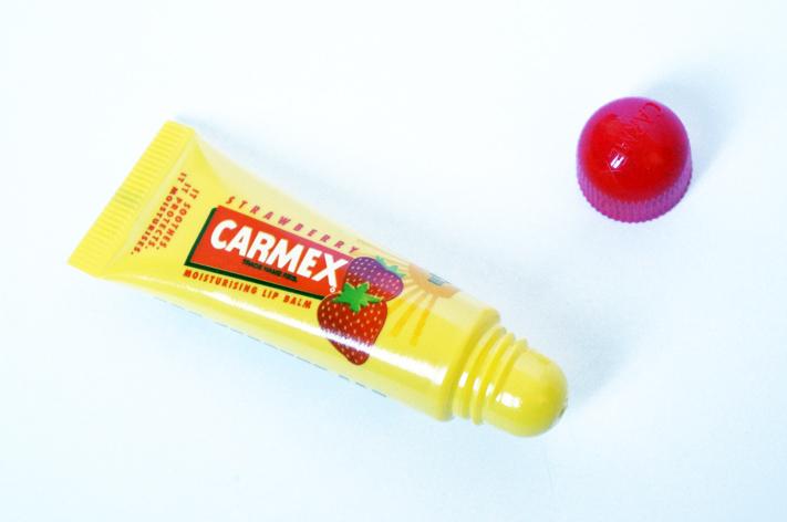 Carmex fraise baume lèvres avis