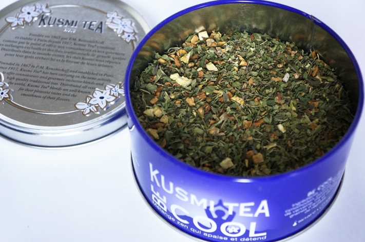 Be Cool Kusmi Tea infusion tisane réglisse menthe verveine test avis