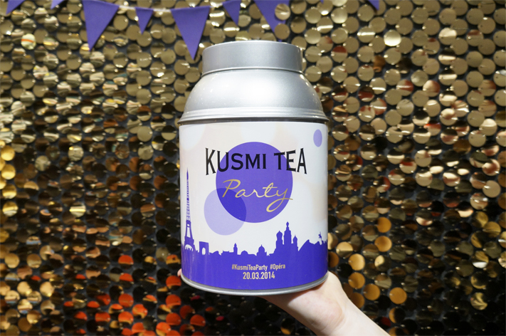 Kusmi Tea Party Paris 2014 - Be Cool Kusmi Tea infusion tisane avis