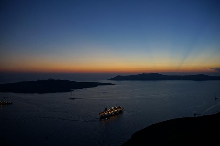 Santorin Santorini Grèce Voyage avis - Fira