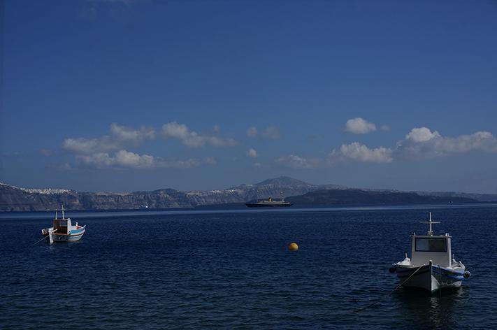 Santorini Grèce Voyage avis - Thirasia
