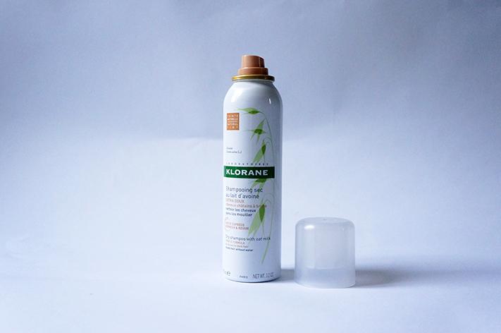 Shampoing sec teinté châtain brune  Klorane test avis