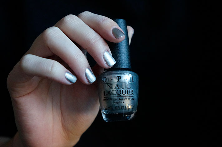 My Silk Tie - OPI Fifty shades of Grey collection swatch