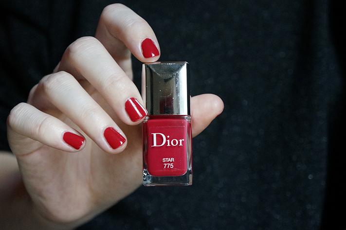 Dior Star 775 swatch avis test vernis manucure