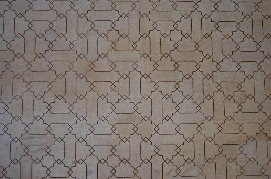 Grenade Granada - Alhambra mosaique 3