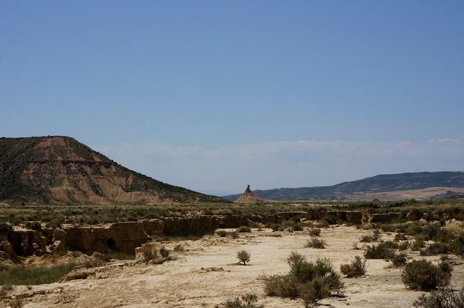 Désert Bardenas Reales Espagne Bardena Blanca Road Trip