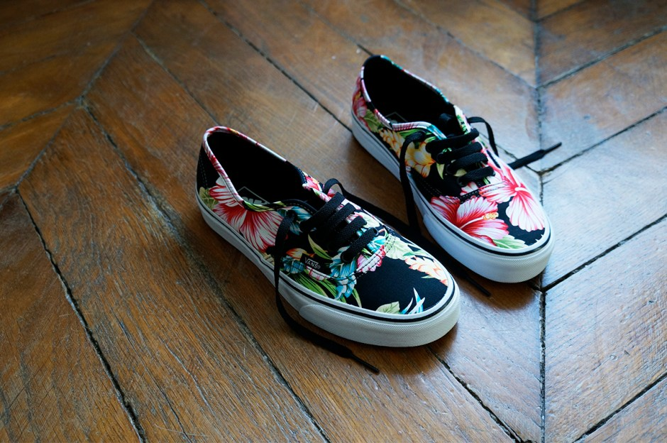 Vans Hawaiian Floral baskets Authentic w