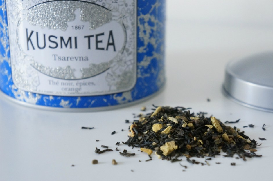 Tsarevna thé Noël Kusmi Tea Paris avis test