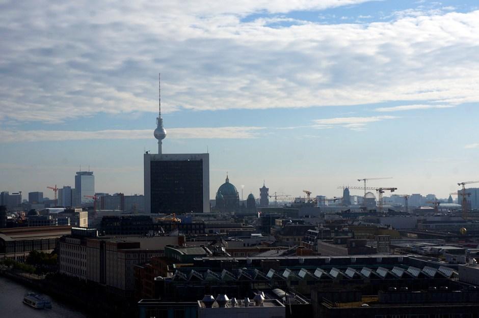 Vue berlinoise