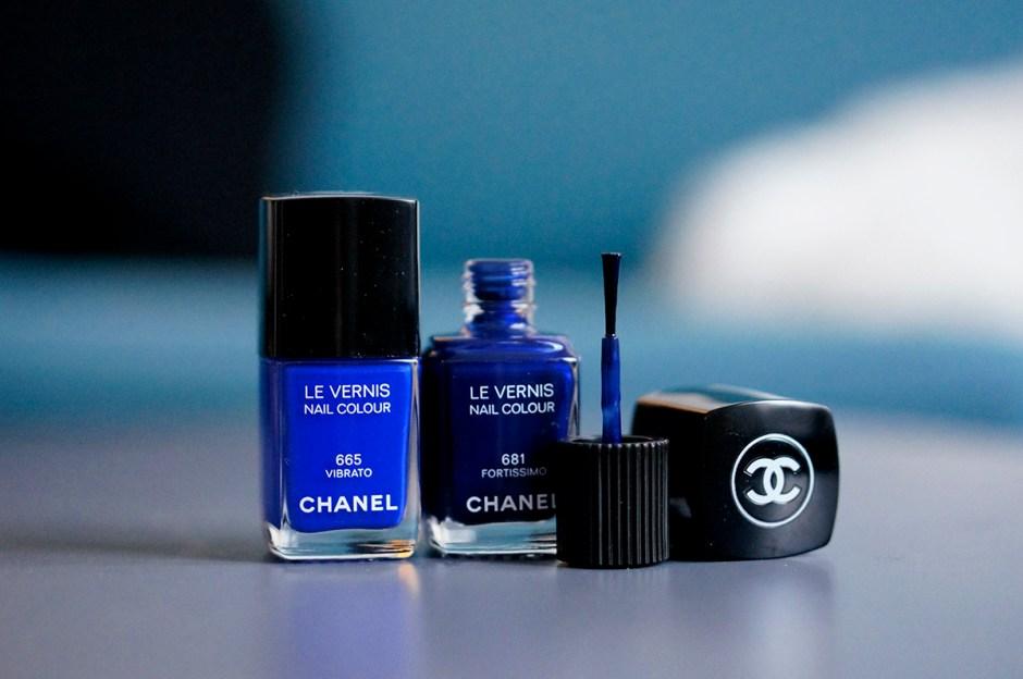 Chanel 681 Fortissimo swatch vernis avis 665 Vibrato