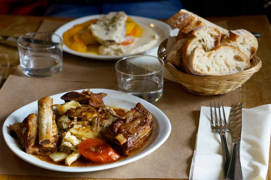 Déjeuner Restaurant Bar Pétanque Les Niçois Paris avis