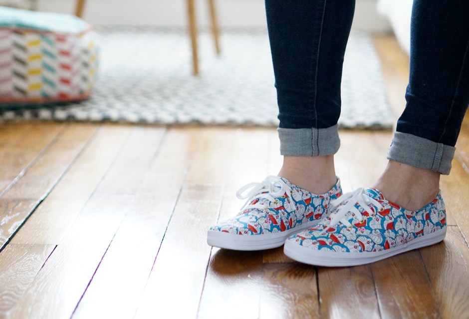 Doraemon Keds Colette baskets