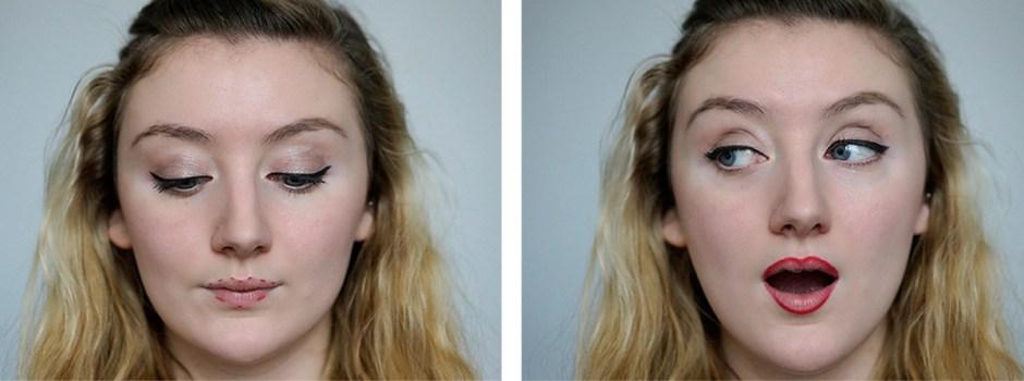 Tuto matifier son rouge à lèvres - Etape 2 le contour des lèvres crayon à lèvres