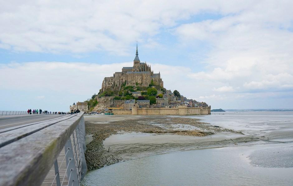 Mont Saint Michel grande maree mere poulard avis sejour 5