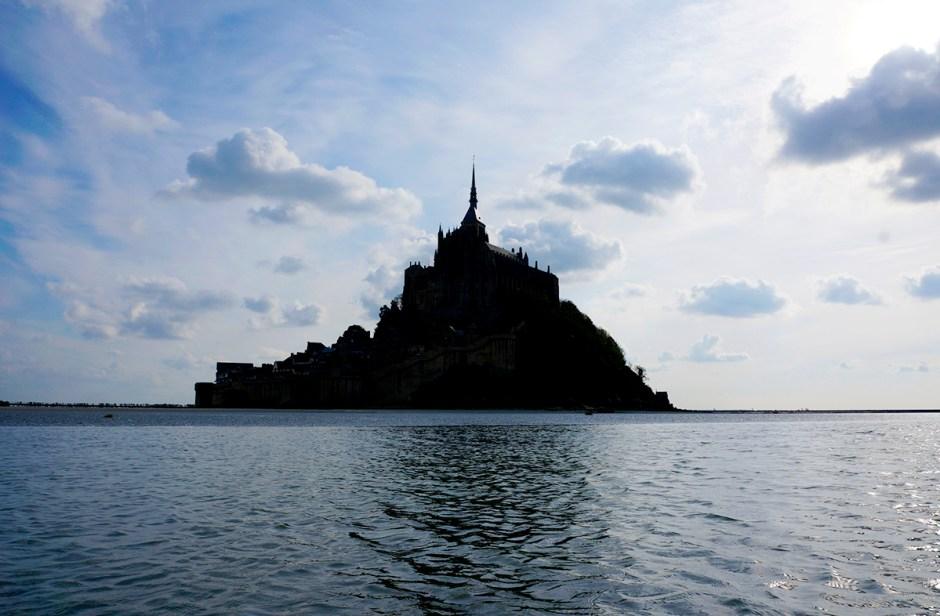 Mont Saint Michel grande maree mere poulard avis sejour baie 2