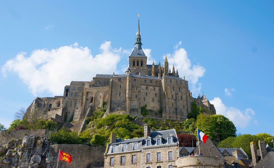 Mont Saint Michel grande maree mere poulard avis sejour ballade 16