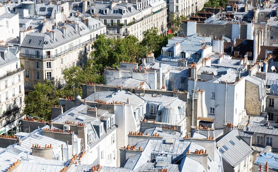 Tour Saint Jacques - panorama terrasse Paris - vue sur les toits