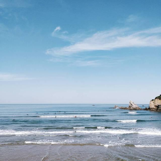 Quelques jours  Biarritz pour prendre lair prendre son tempshellip