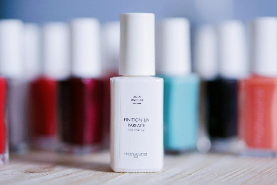 Finition UV parfaite Top Coat Manucurist test avis swatch