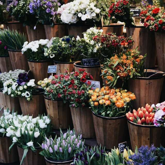 Un des plus jolis fleuristes parisiens