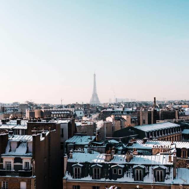 La neige  Paris mon feed Insa en est remplihellip