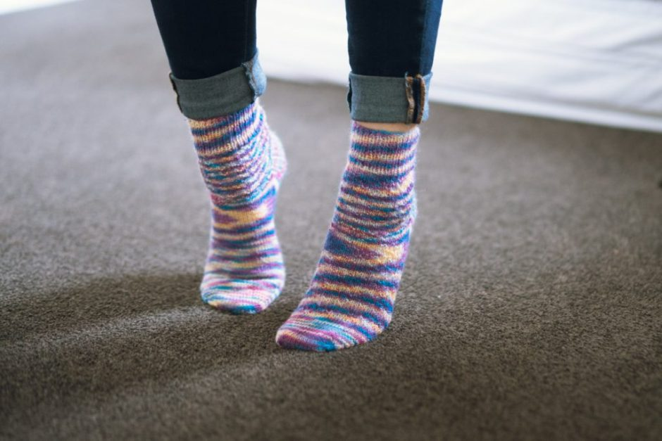 Hermione's Everyday Socks chaussettes tricot DIY Happy Feet