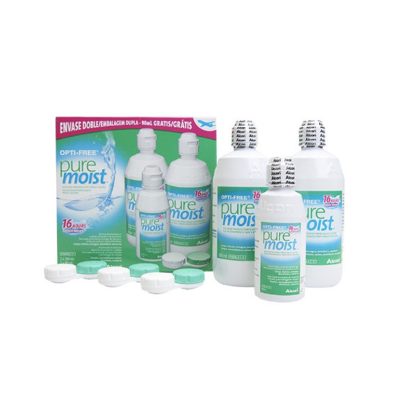 Opti-Free Pure Moist Pack 3 botellas