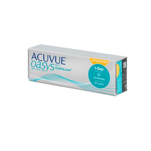 Acuvue Oasys 1-Day con Hydraluxe 30/90 unidades