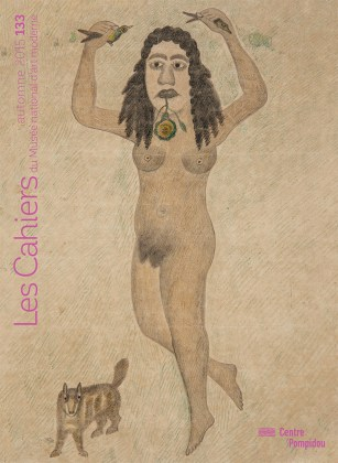 n° 133 des Cahiers du Musée national d'art moderne