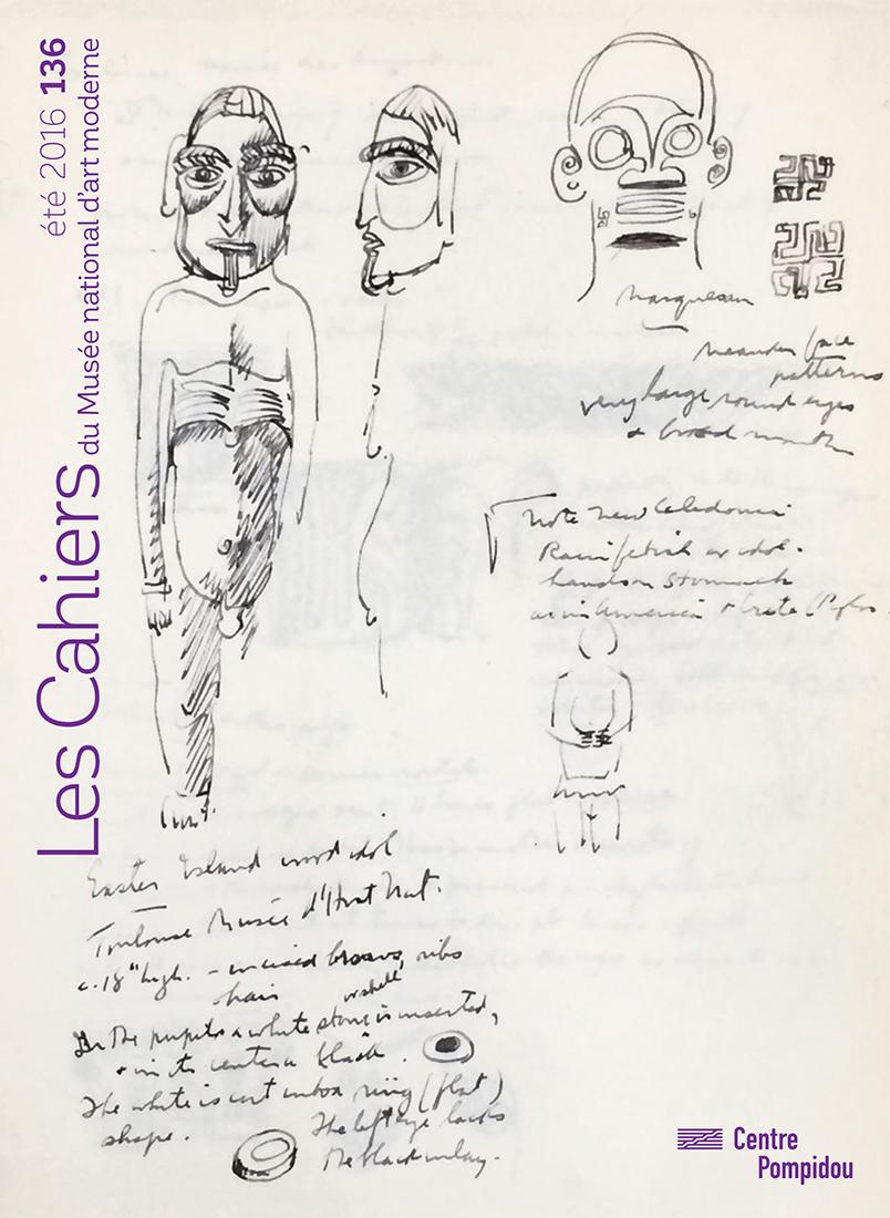 n° 136 des Cahiers du Musée national d'art moderne