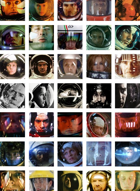 Los 35 cascos espaciales más famosos