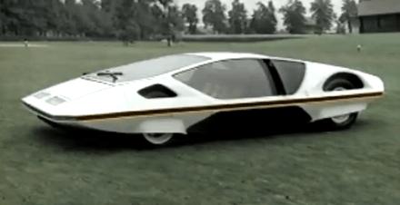 Así imaginó Pininfarina en 1.968 que sería el Ferrari del futuro