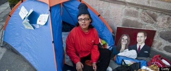 Estibaliz Chavez en huelga para ir a la boda del príncipe Guillermo
