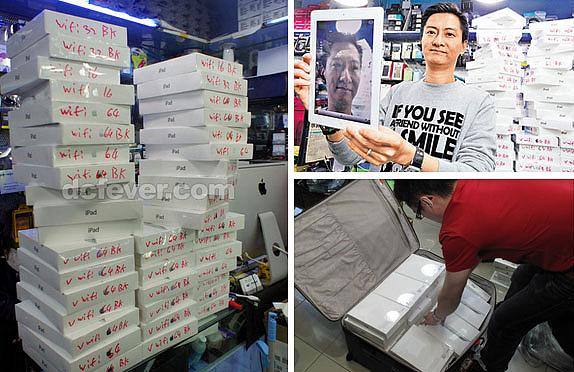 El mercado gris de iPads 2
