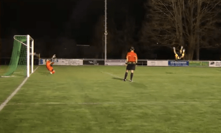 Un lanzamiento de penalti que supera a la Ezequinha