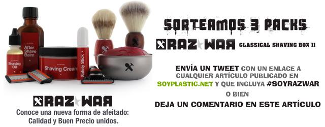 Sorteo cuchillas RazWar en SoyPlastic.net