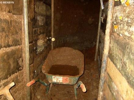 El túnel costó 6 meses de construcción