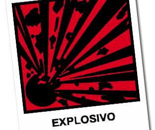 Explosivos caseros