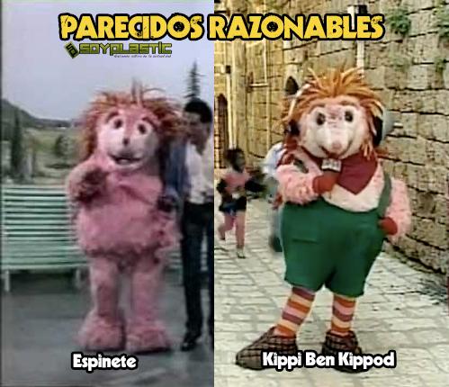 Parecido razonable: Espinete y Kippi ben Kippod